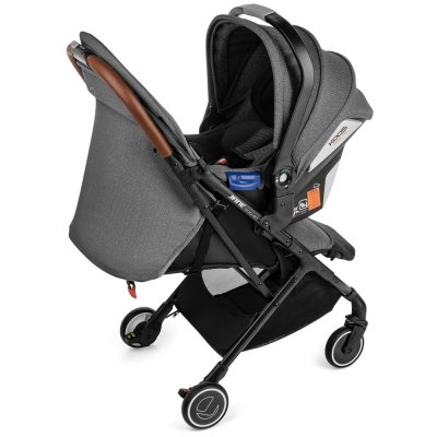 Pack poussette duo rocket avec koos i-size r1 jet black Jane