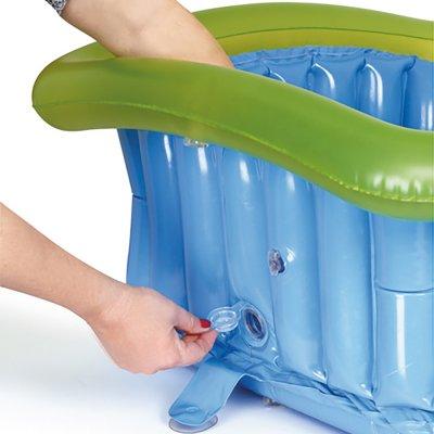 Baignoire bébé gonflable pour espace douche 60x60cm Jane