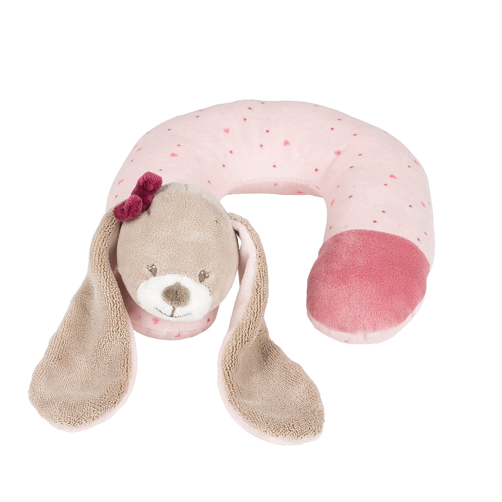 tour de cou le lapin nina 0 mois de nattou en vente chez cdm. Black Bedroom Furniture Sets. Home Design Ideas
