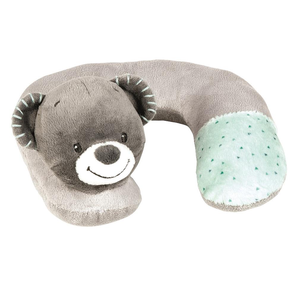 tour de cou l 39 ours jules 0 mois de nattou en vente chez cdm. Black Bedroom Furniture Sets. Home Design Ideas