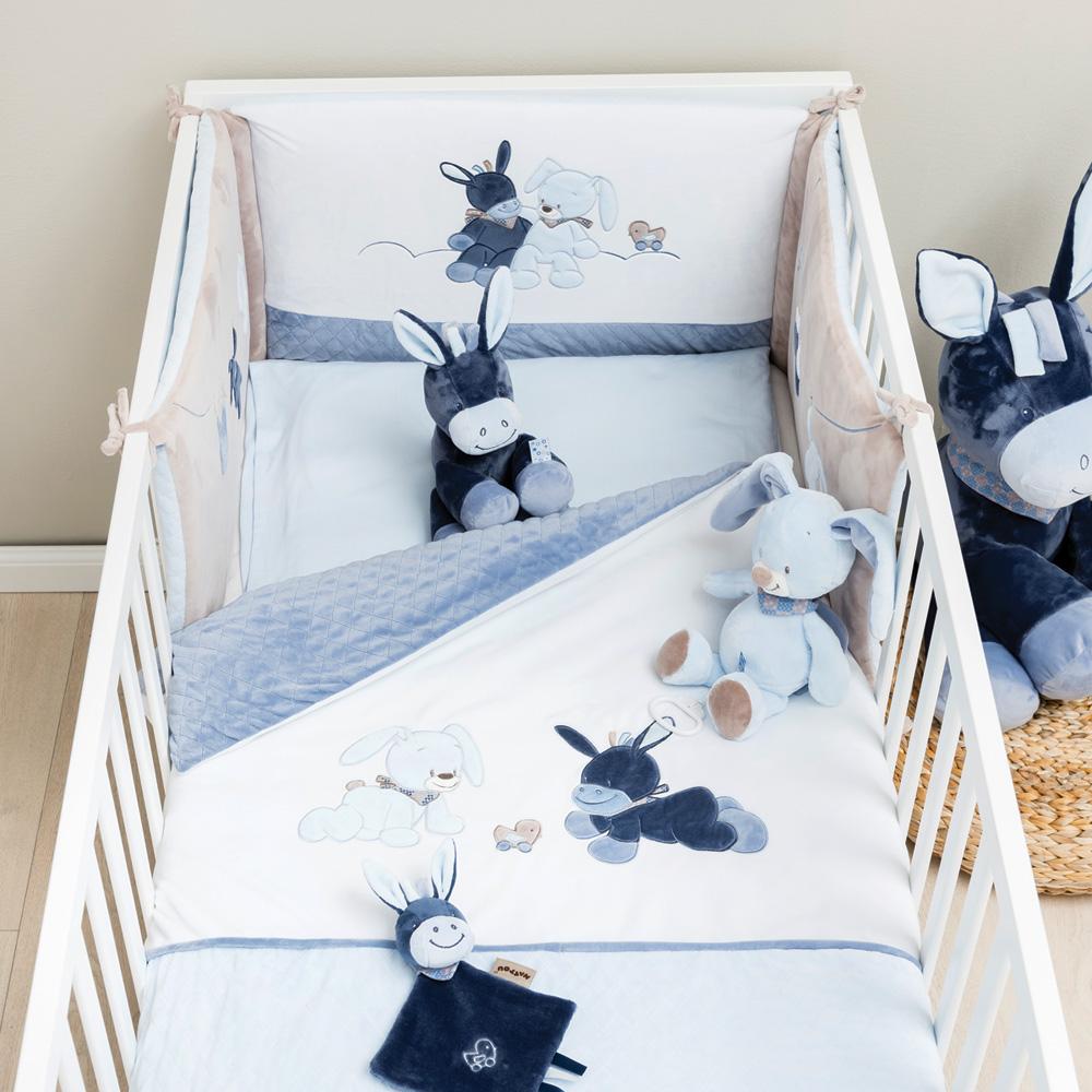 tour de lit alex et bibou de nattou chez naturab b. Black Bedroom Furniture Sets. Home Design Ideas