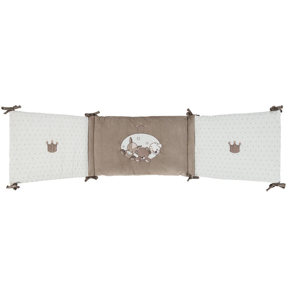 tour de lit b b tom max et noa de nattou sur allob b. Black Bedroom Furniture Sets. Home Design Ideas