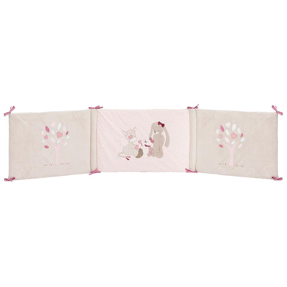 tour de lit lili jade et nina de nattou en vente chez cdm. Black Bedroom Furniture Sets. Home Design Ideas