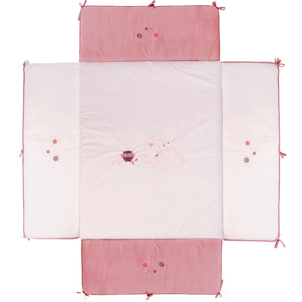 tapis de parc avec bord valentine et ad le de nattou sur allob b. Black Bedroom Furniture Sets. Home Design Ideas
