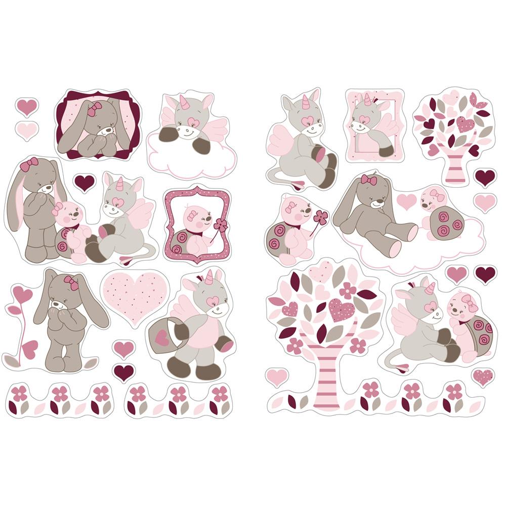 Stickers Decoratifs Lili Jade Et Nina De Nattou En Vente Chez Cdm