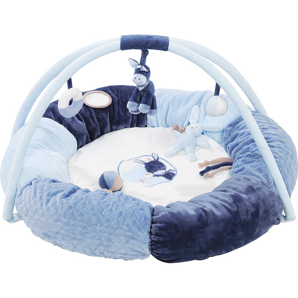 tapis pouf avec arches alex et bibou de nattou sur allob b. Black Bedroom Furniture Sets. Home Design Ideas