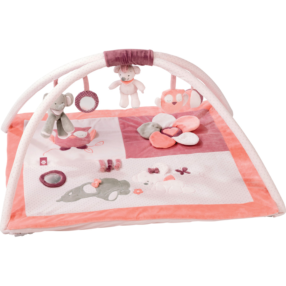 tapis d 39 veil avec arches valentine et ad le de nattou. Black Bedroom Furniture Sets. Home Design Ideas