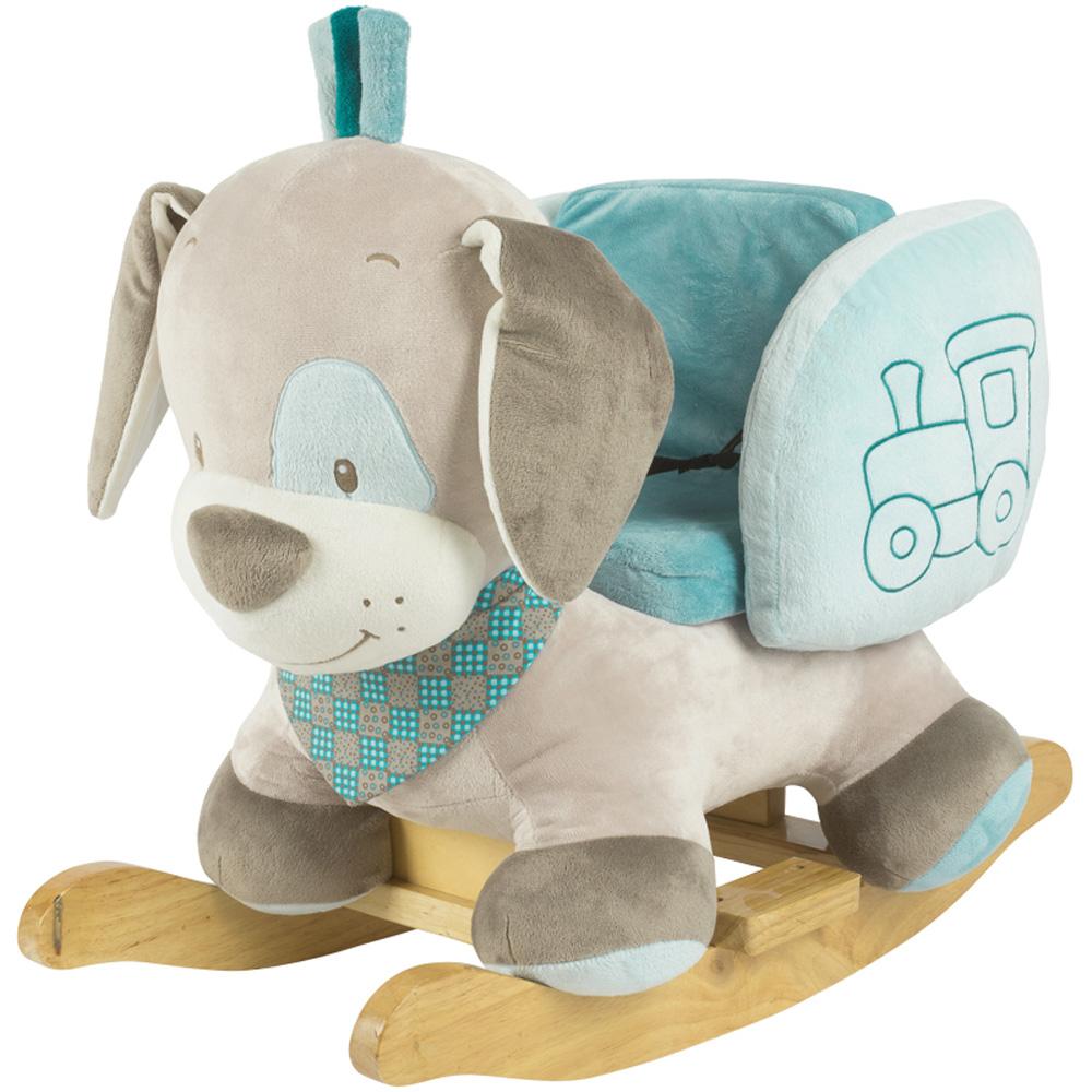 jouet d 39 veil b b bascule chien cyril de nattou chez. Black Bedroom Furniture Sets. Home Design Ideas