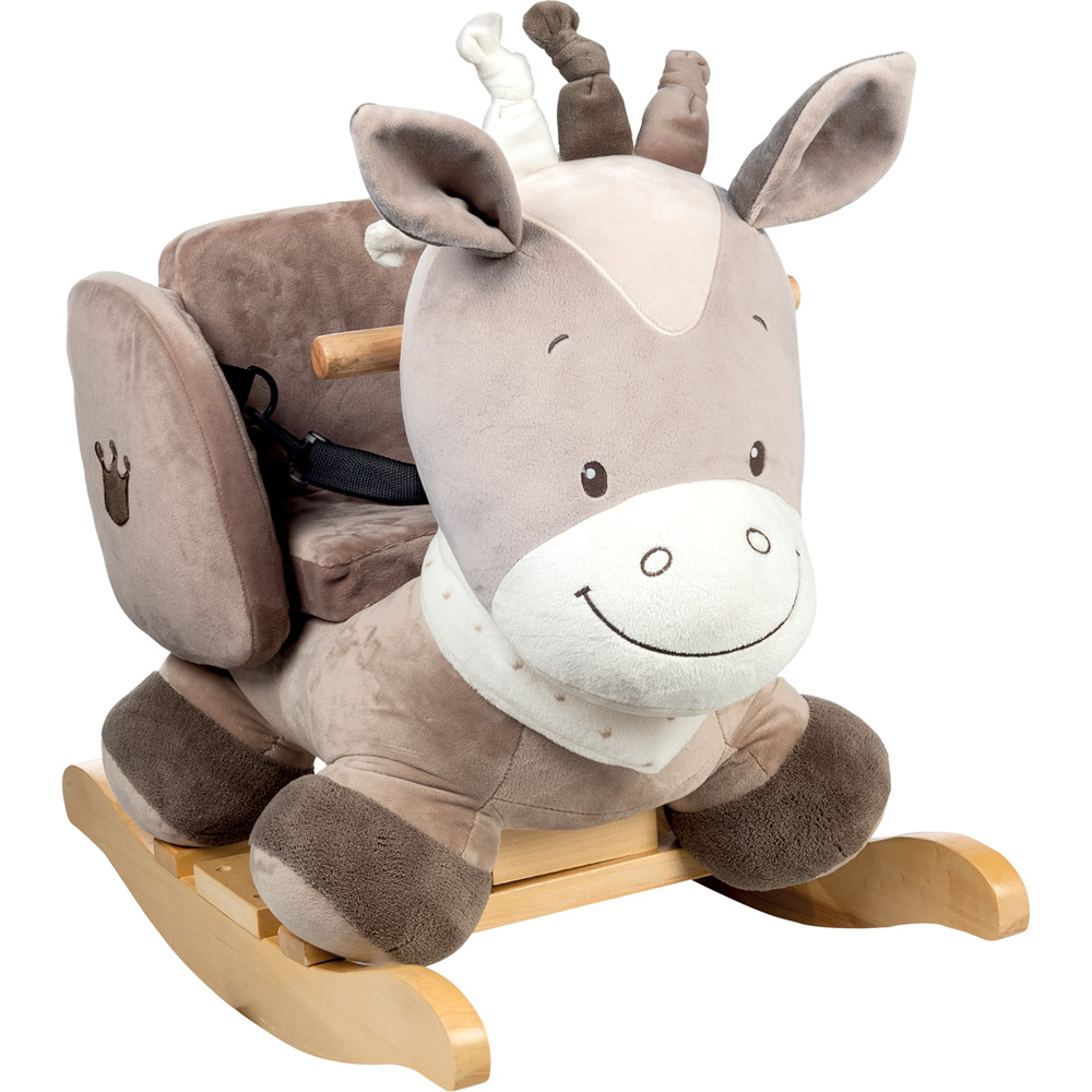bascule le cheval noa de nattou sur allob b. Black Bedroom Furniture Sets. Home Design Ideas