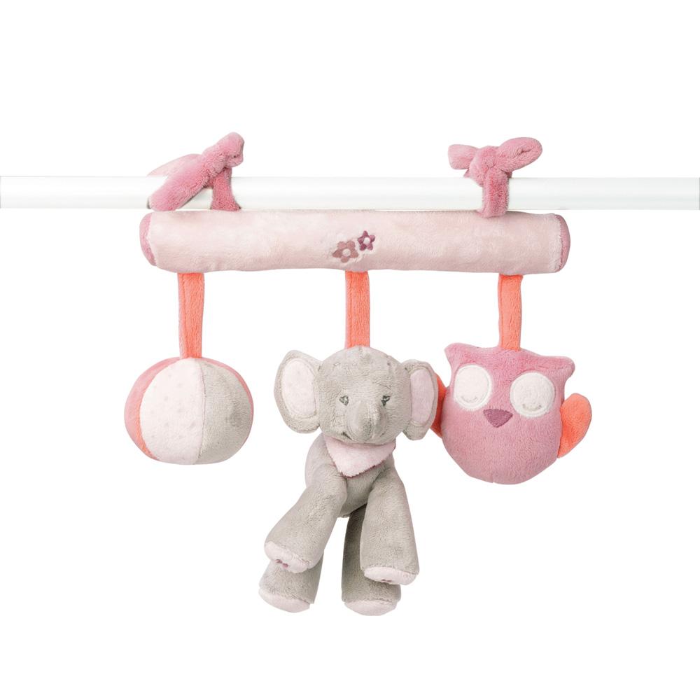 jouet de lit b b maxi toy valentine et ad le de nattou sur allob b. Black Bedroom Furniture Sets. Home Design Ideas