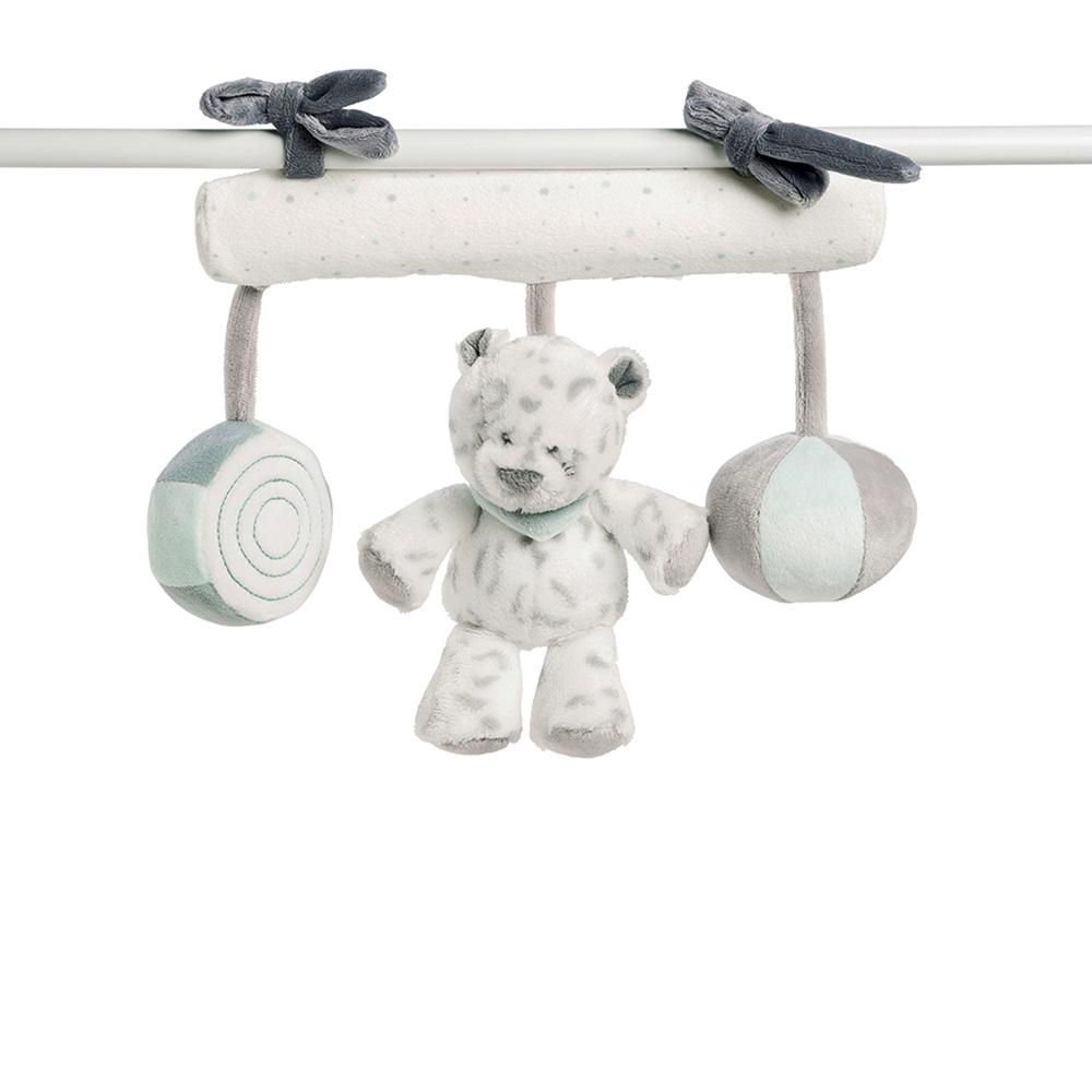jouet de lit b b maxi toys lea loulou hippolyte de nattou. Black Bedroom Furniture Sets. Home Design Ideas