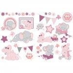 Stickers décoratifs valentine et adèle
