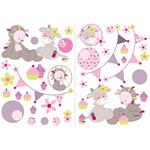 Stickers manon & alizée de Nattou