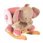 Bascule elephant rose pas cher