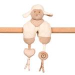 Jouet de lit bébé maxi toy mouton cappuccino pas cher
