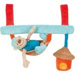 Jouets de lit bébé maxi toy singe jungle pas cher
