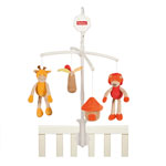 Mobile bébé girafe jungle pas cher