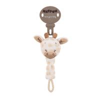 Attache sucette la girafe charlotte