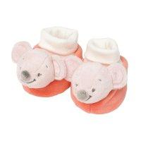 Chaussons bébé valentine la souris