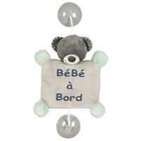 Signalétique bébé à bord l'ours jules