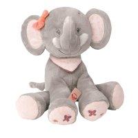 Peluche bébé adèle l'elephant 28 cm