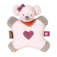Doudou flatsie valentine la souris