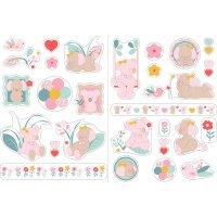Stickers décoratifs iris et lali