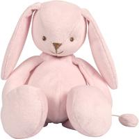 Peluche bébé médium musical lapin rosy et emil