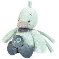 Peluche bébé mini-musical le canard nestor