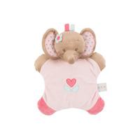 Doudou flatsie l'élephant rose