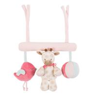 Jouet de lit bébé maxitoy charlotte et rose