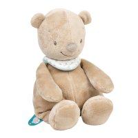 Peluche bébé basile l'ours 28cm