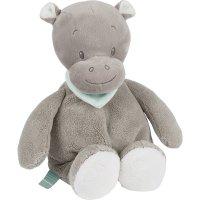 Peluche bébé hippopotame hippolyte