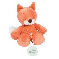 Peluche bébé mini musicale oscar le renard