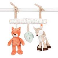 Jouet de lit bébé maxi toys fanny et oscar