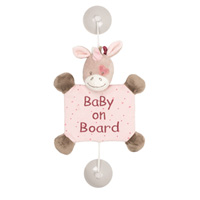 Signalétique baby on board la licorne jade