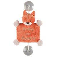 Signalétique bébé à bord oscar le renard