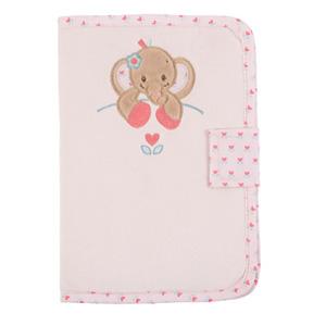 Protège carnet de santé charlotte et rose