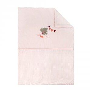 Couverture 100x135cm valentine et adèle