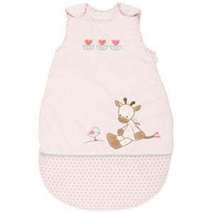 Gigoteuse bébé charlotte et rose 70 cm