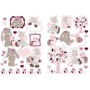 Stickers décoratifs lili, jade et nina
