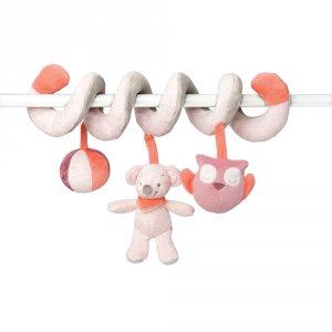 Jouet de lit bébé spirale valentine et adèle