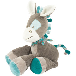 Peluche bébé cheval gaston