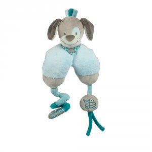Jouets de lit bébé maxi toy chien cyril