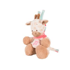 Peluche bébé mini musical la girafe charlotte