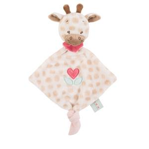 Mini doudou girafe charlotte