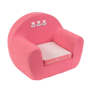 Sofa bébé charlotte et rose