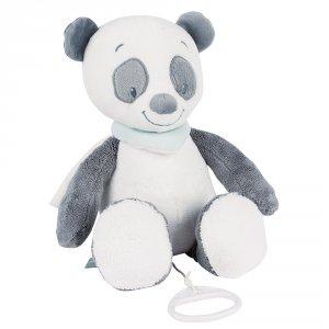 Peluche bébé musicale panda loulou