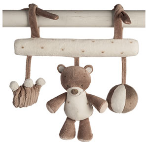 Jouet de lit bébé maxitoy l'ours tom