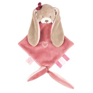 Mini doudou le lapin nina